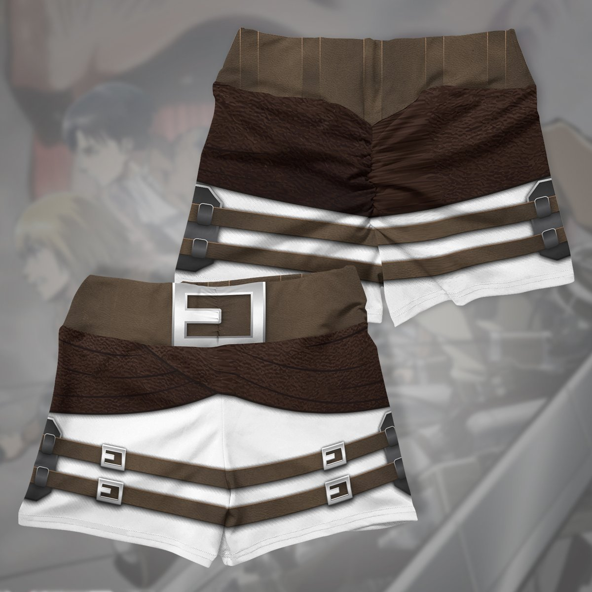 aot corps active wear set 793640 - Anime Swimsuits