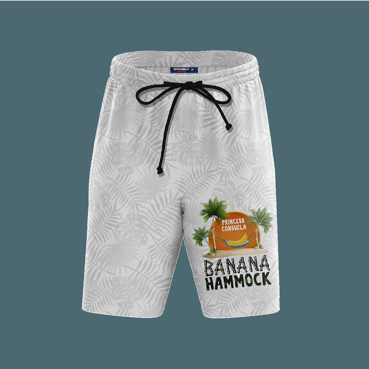 Banana Hammock Beach Shorts FDM3107 S Official Anime Swimsuit Merch