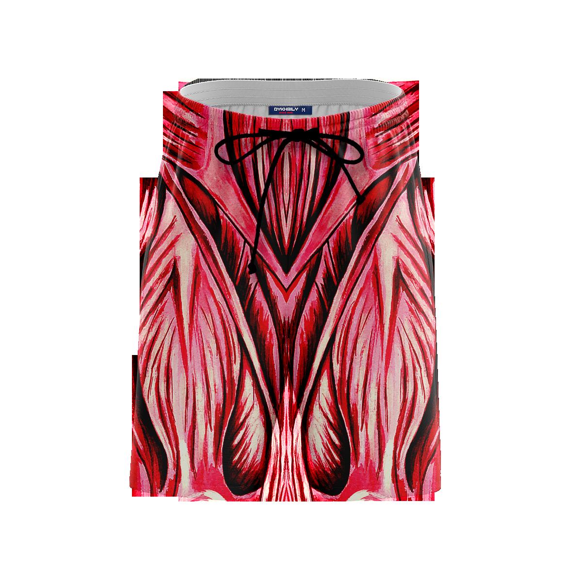 Colossal Titan Beach Shorts FDM3107 S Official Anime Swimsuit Merch