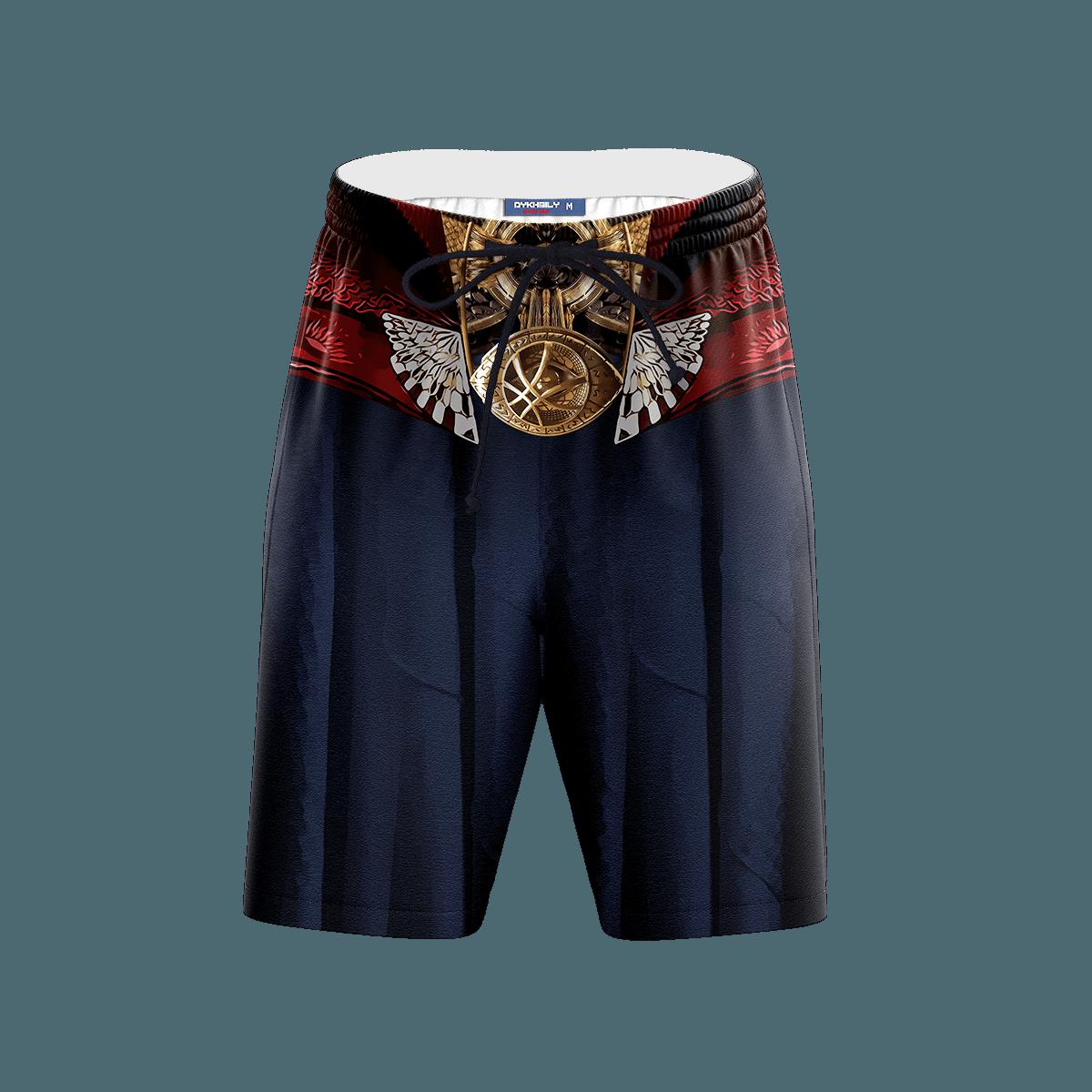 Doctor Strange Beach Shorts FDM3107 S Official Anime Swimsuit Merch