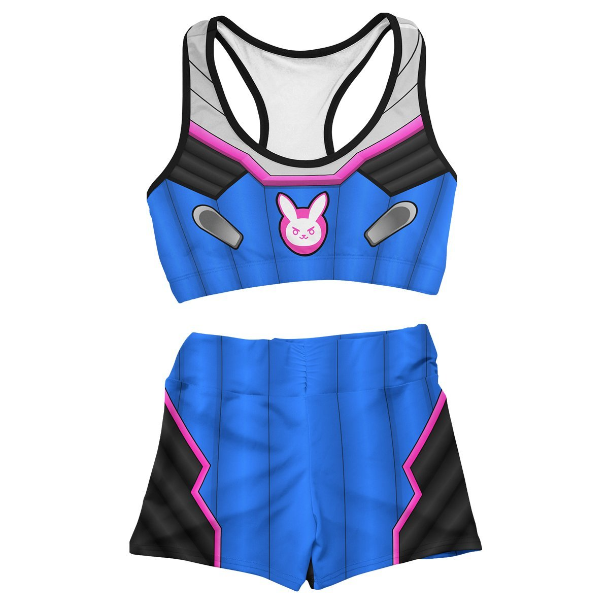 Dva Summer Active Wear Set FDM3107 Entire Set Official Anime Swimsuit Merch