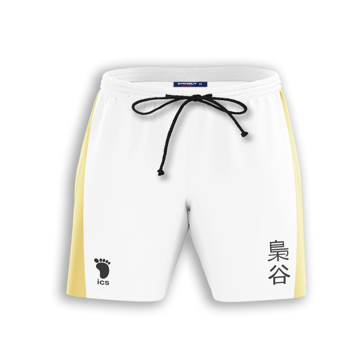 Fukurodani Libero Beach Shorts FDM3107 S Official Anime Swimsuit Merch