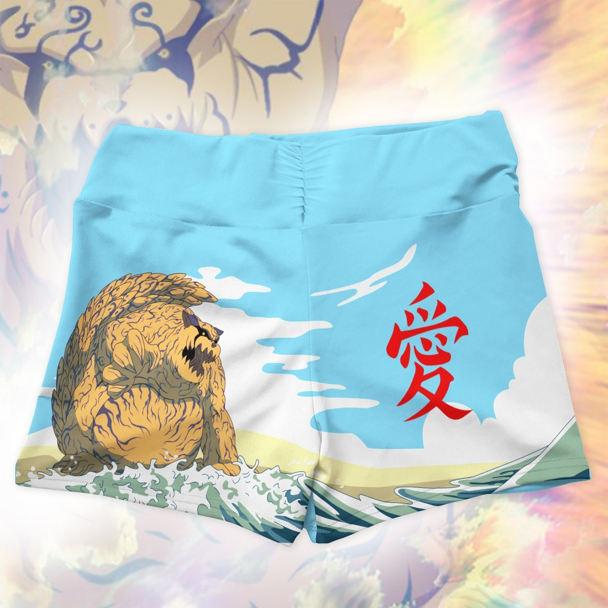 gaara summer active wear set 959590 - Anime Swimsuits