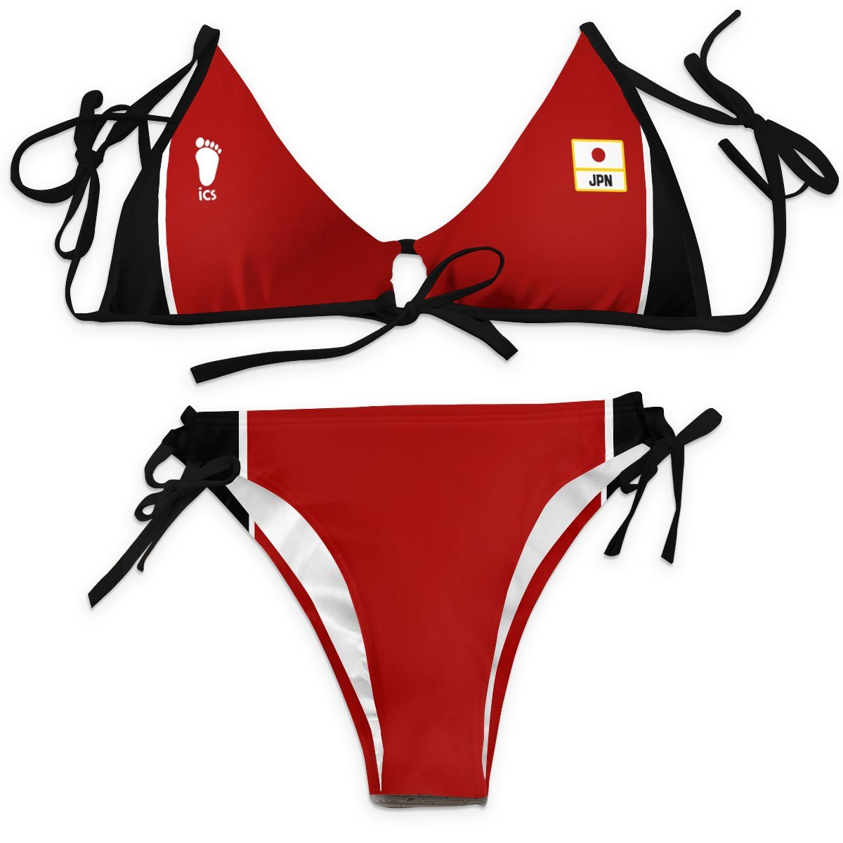 Haikyuu National Team Bikini Swimsuit FDM3107 XXS Official Anime Swimsuit Merch