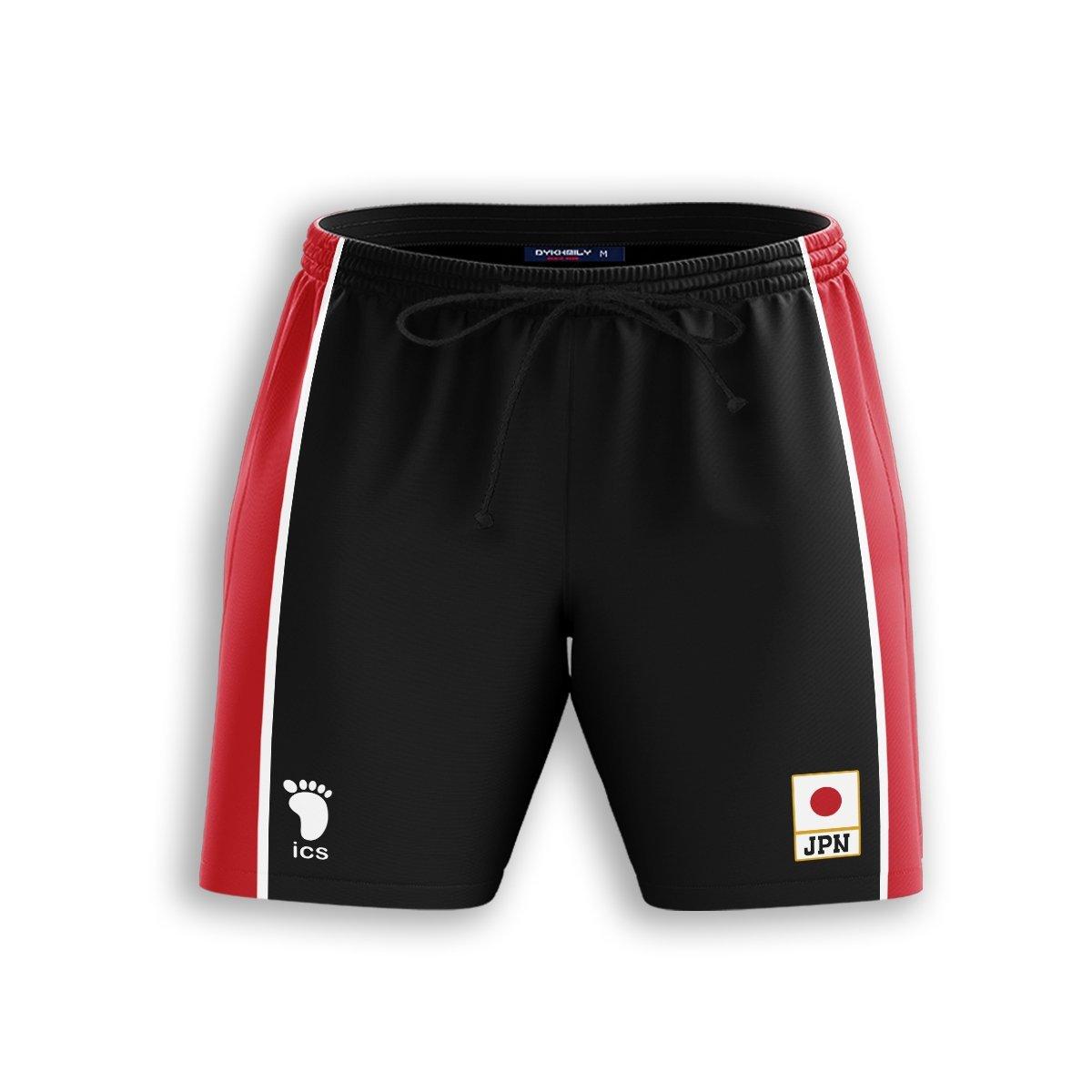 Haikyuu National Team Libero Beach Shorts FDM3107 S Official Anime Swimsuit Merch