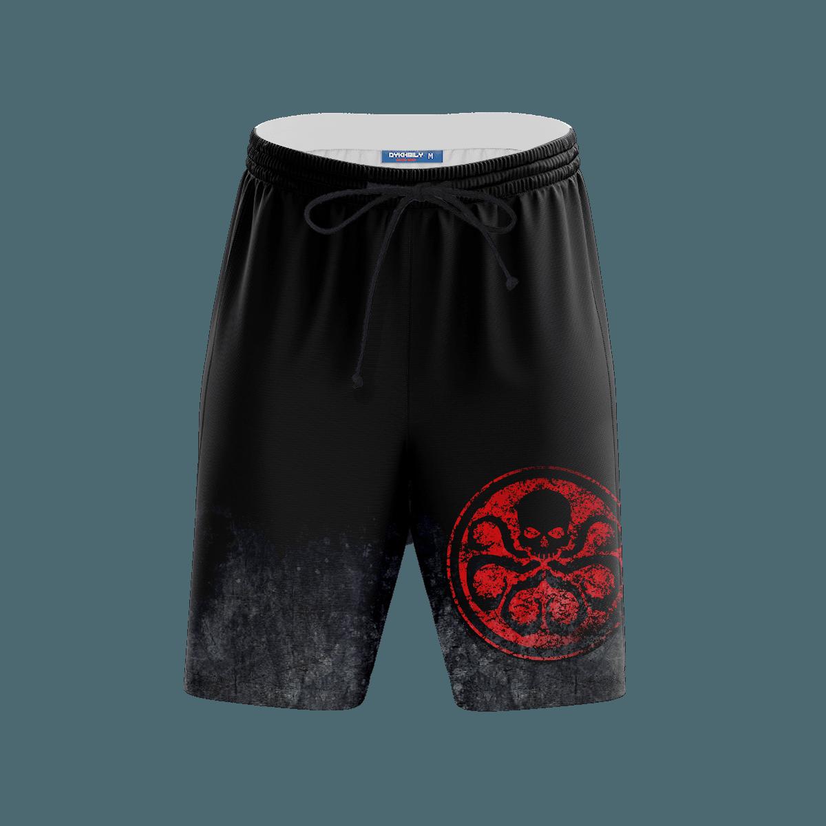 Hail Hydra Beach Shorts FDM3107 S Official Anime Swimsuit Merch