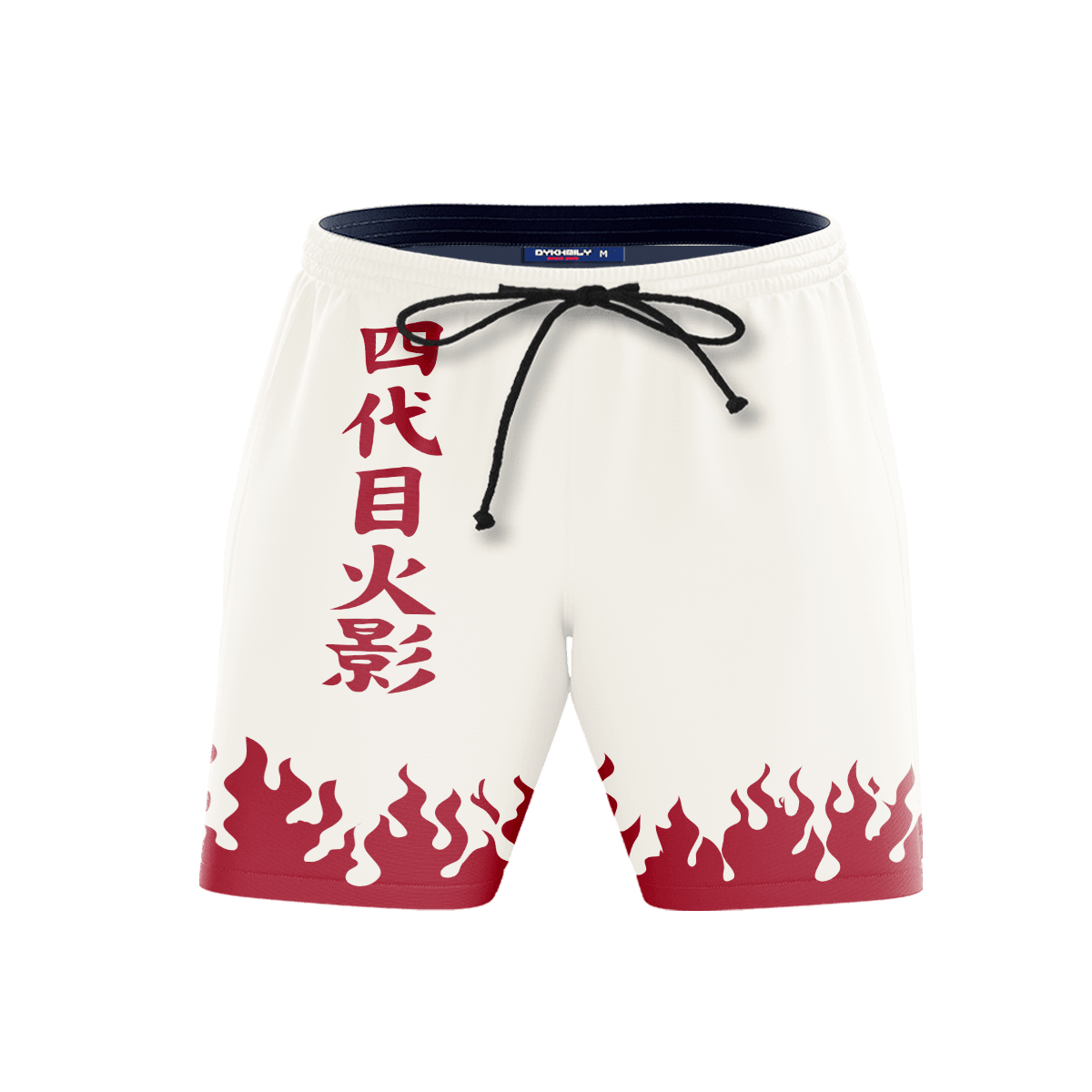 Hokage Beach Shorts FDM3107 S Official Anime Swimsuit Merch