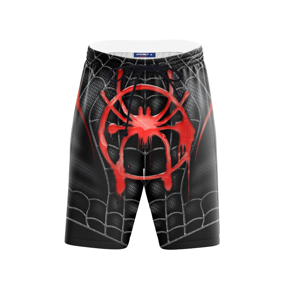Into The Spider Verse Beach Shorts FDM3107 S Official Anime Swimsuit Merch