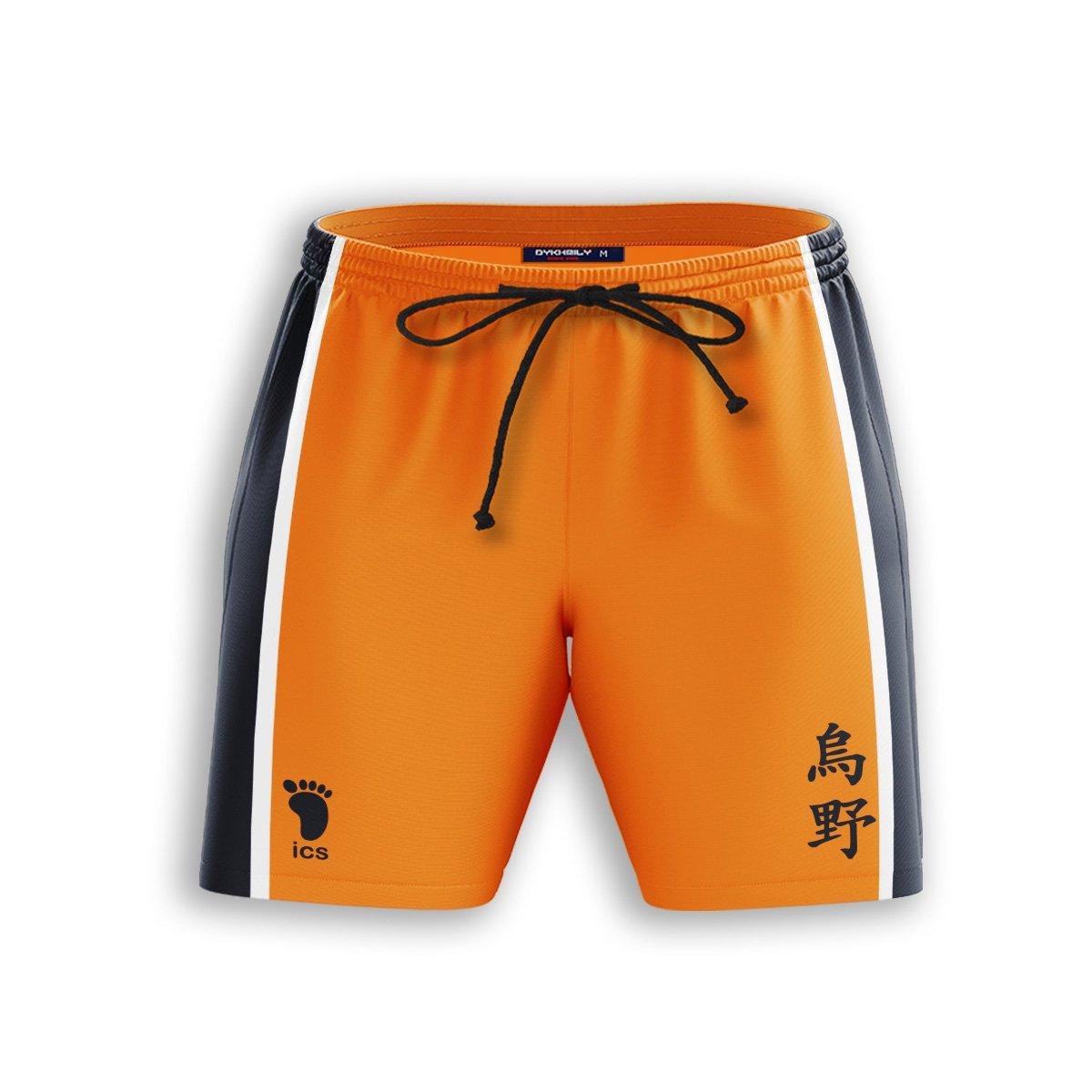 Karasuno Libero Beach Shorts FDM3107 S Official Anime Swimsuit Merch