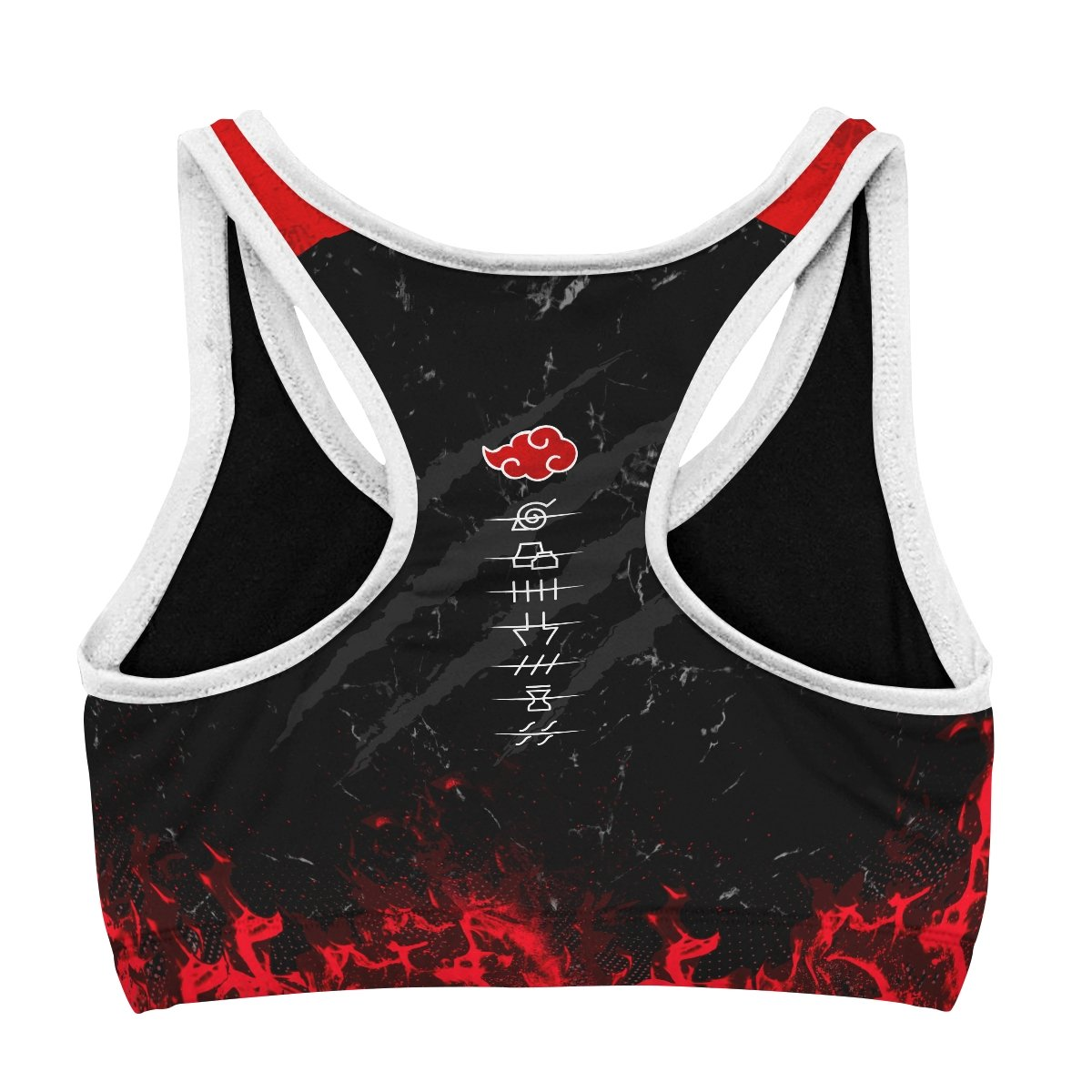 naruto akatsuki pride active wear set 145372 - Anime Swimsuits