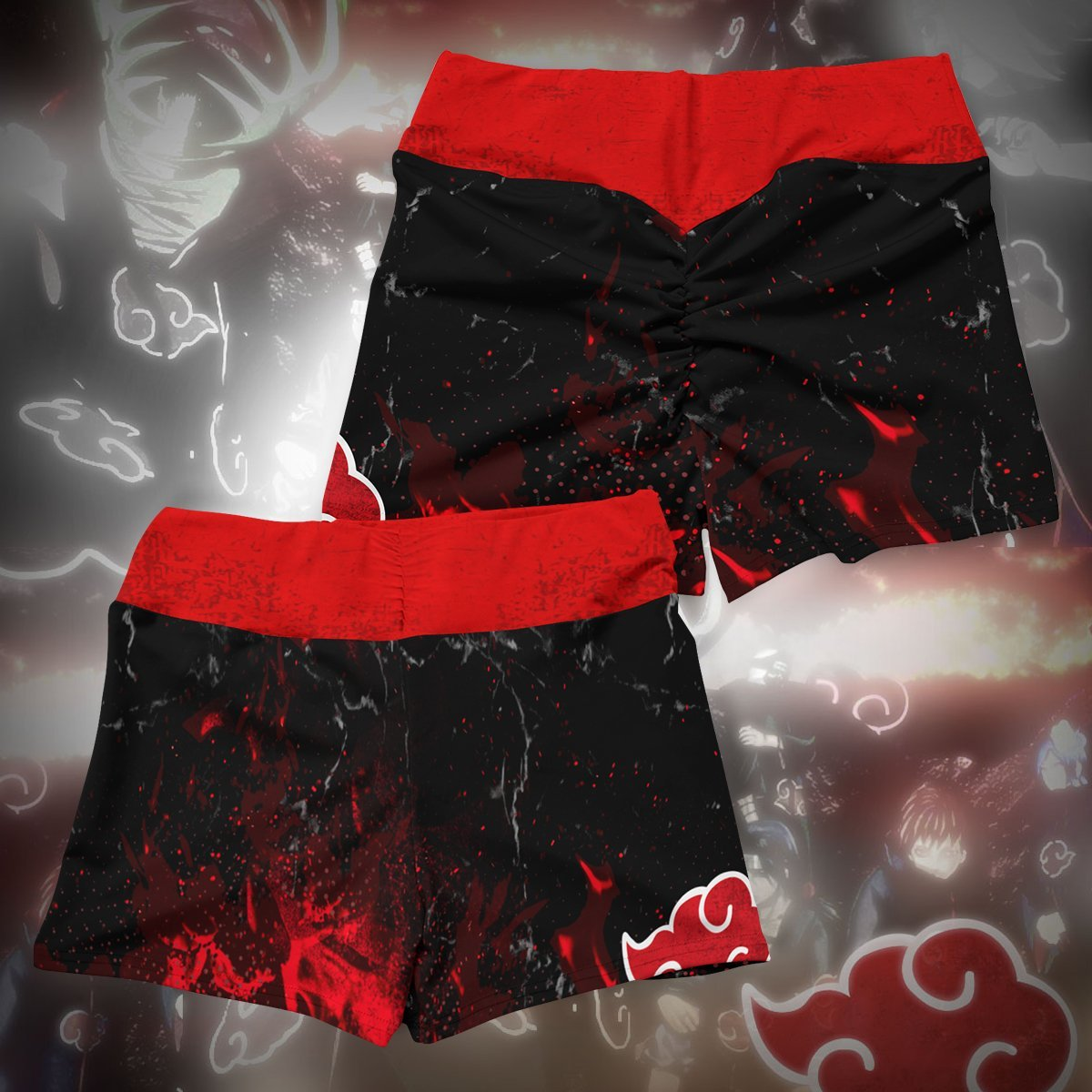 naruto akatsuki pride active wear set 418687 - Anime Swimsuits