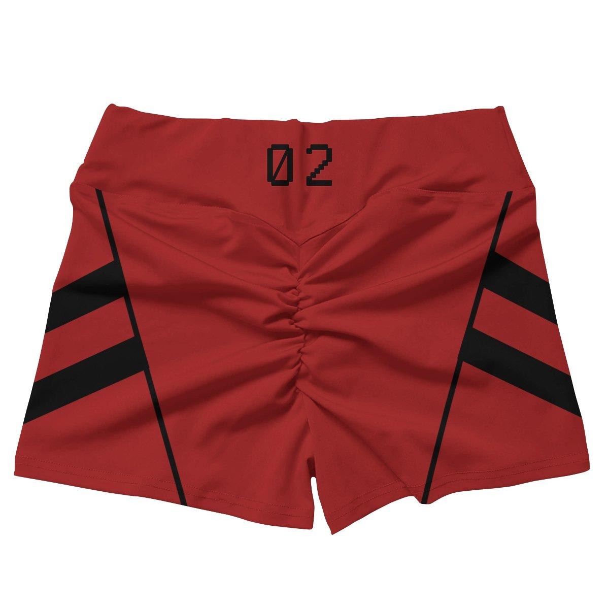 neon genesis asuka active wear set 384017 - Anime Swimsuits