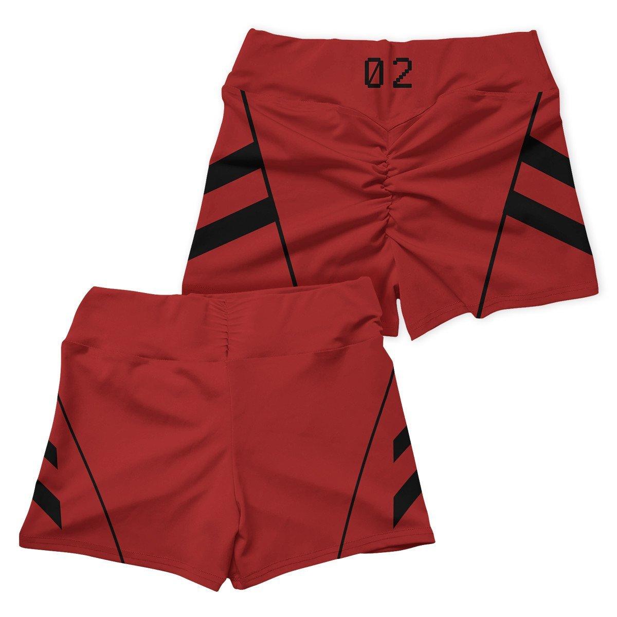 neon genesis asuka active wear set 678182 - Anime Swimsuits