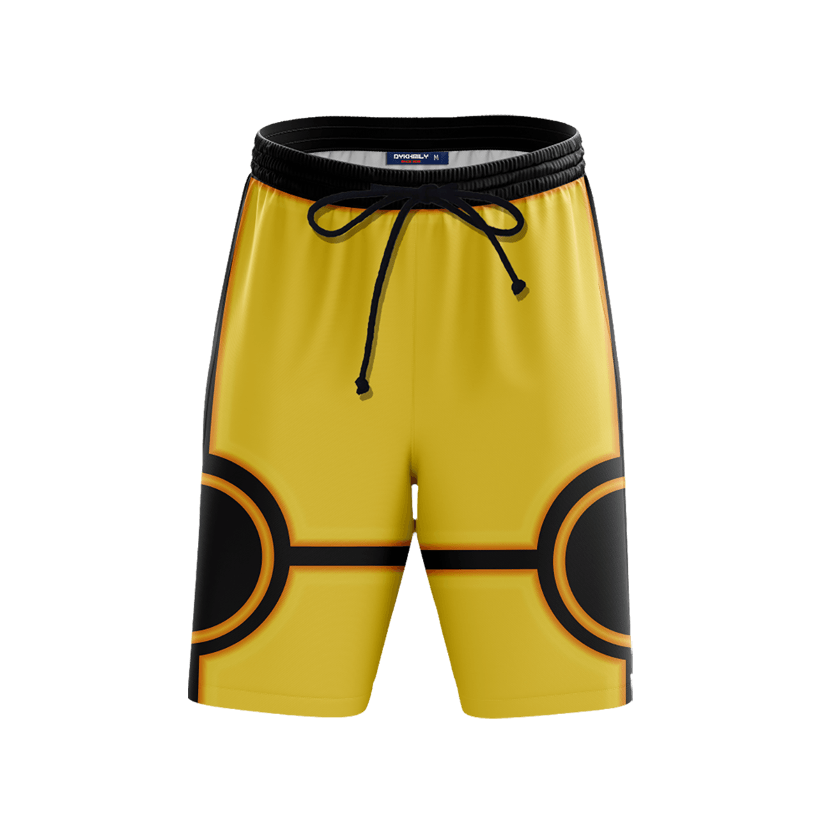 Nine-Tails Chakra Beach Shorts FDM3107 S Official Anime Swimsuit Merch