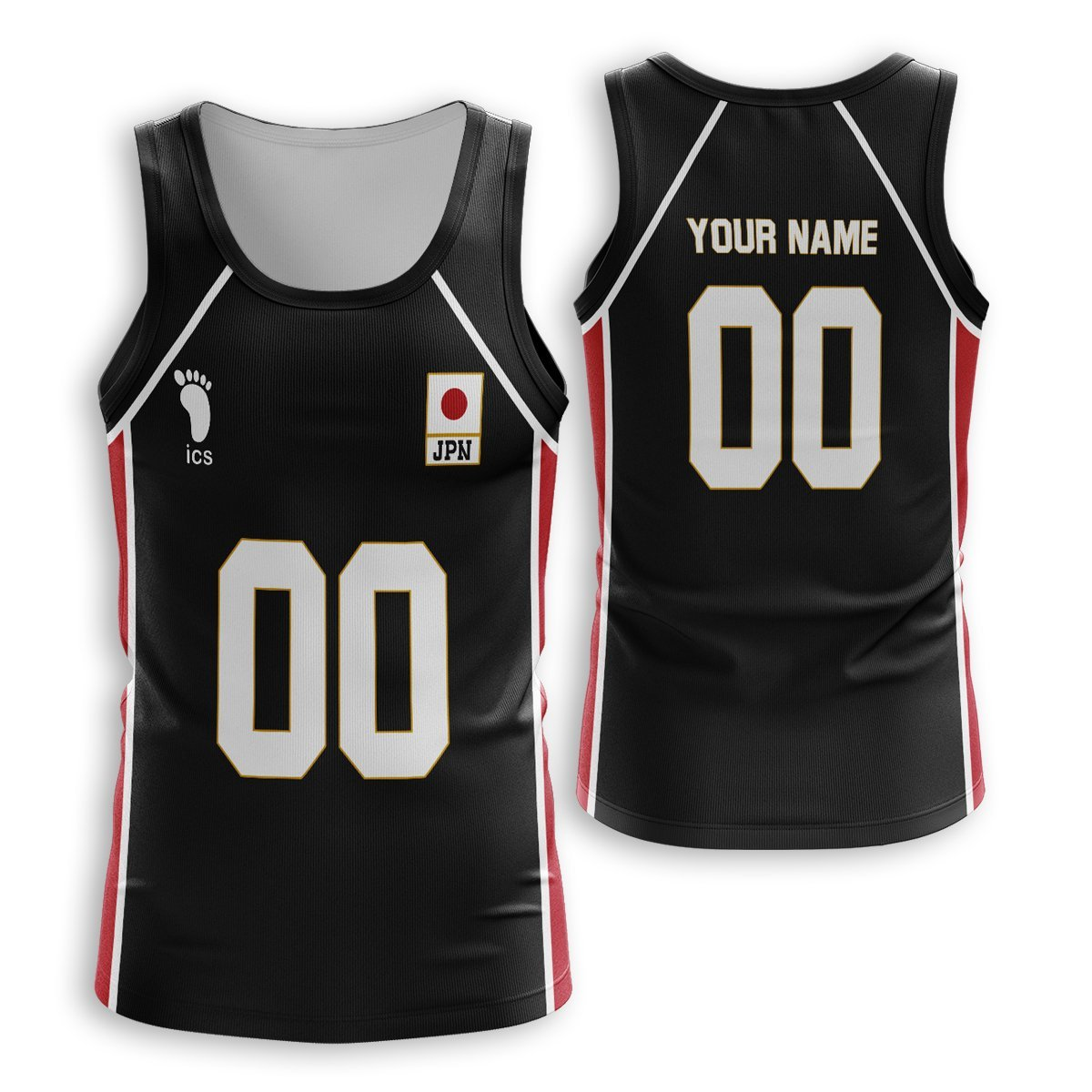 Personalized Haikyuu National Team Libero Unisex Tank Tops FDM3107 S Official Anime Swimsuit Merch