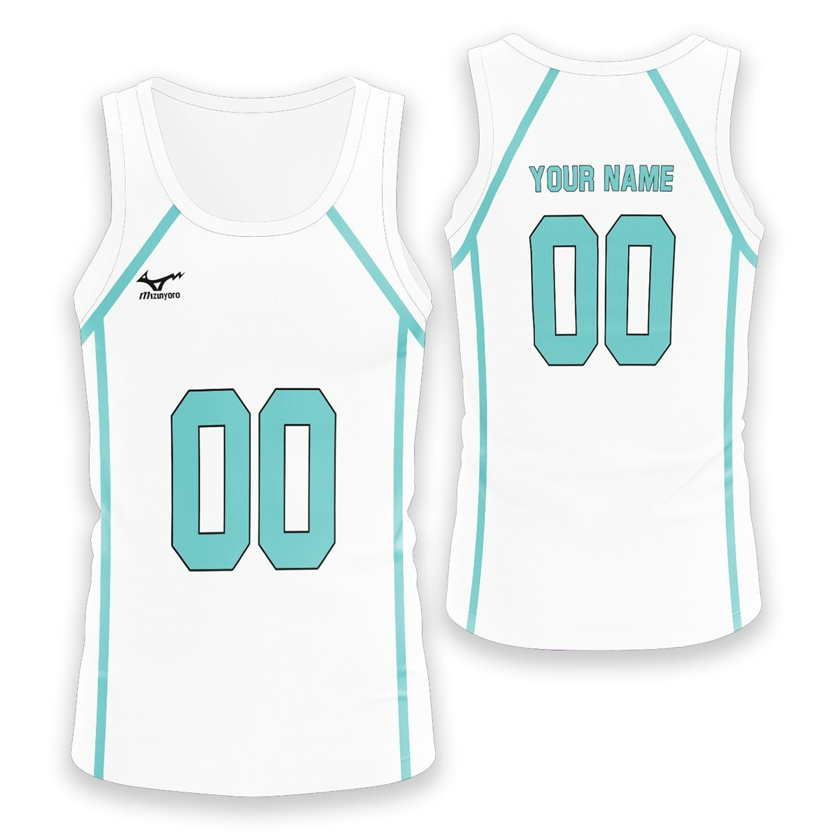 Personalized Team Aoba Johsai Unisex Tank Tops FDM3107 S Official Anime Swimsuit Merch