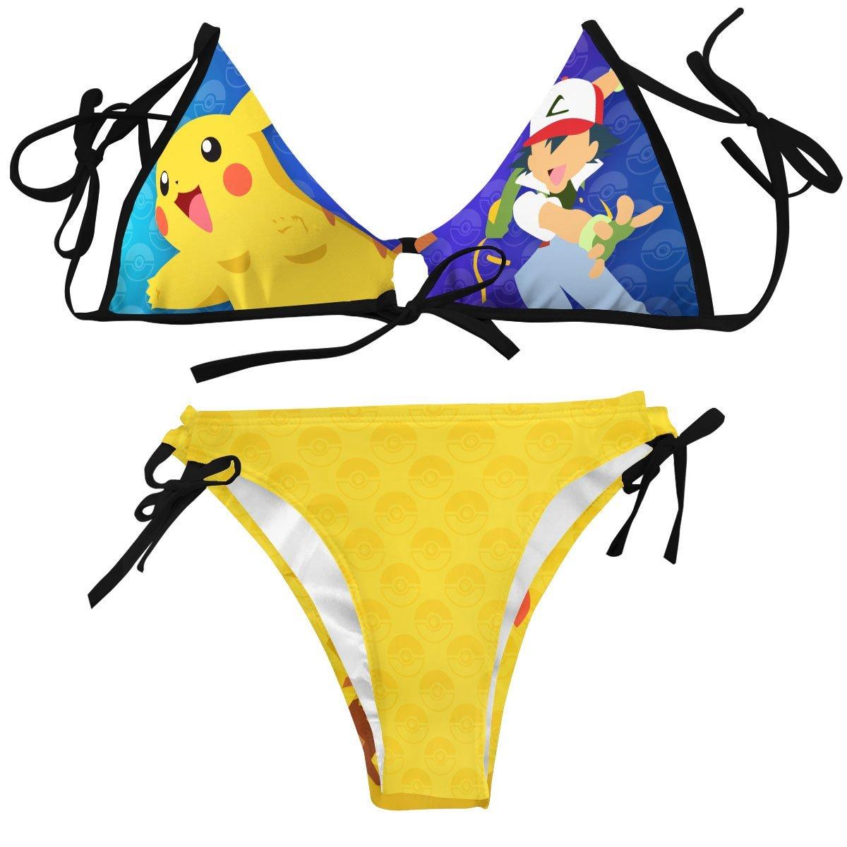 Pika Bikini Swimsuit FDM3107 XXS Official Anime Swimsuit Merch