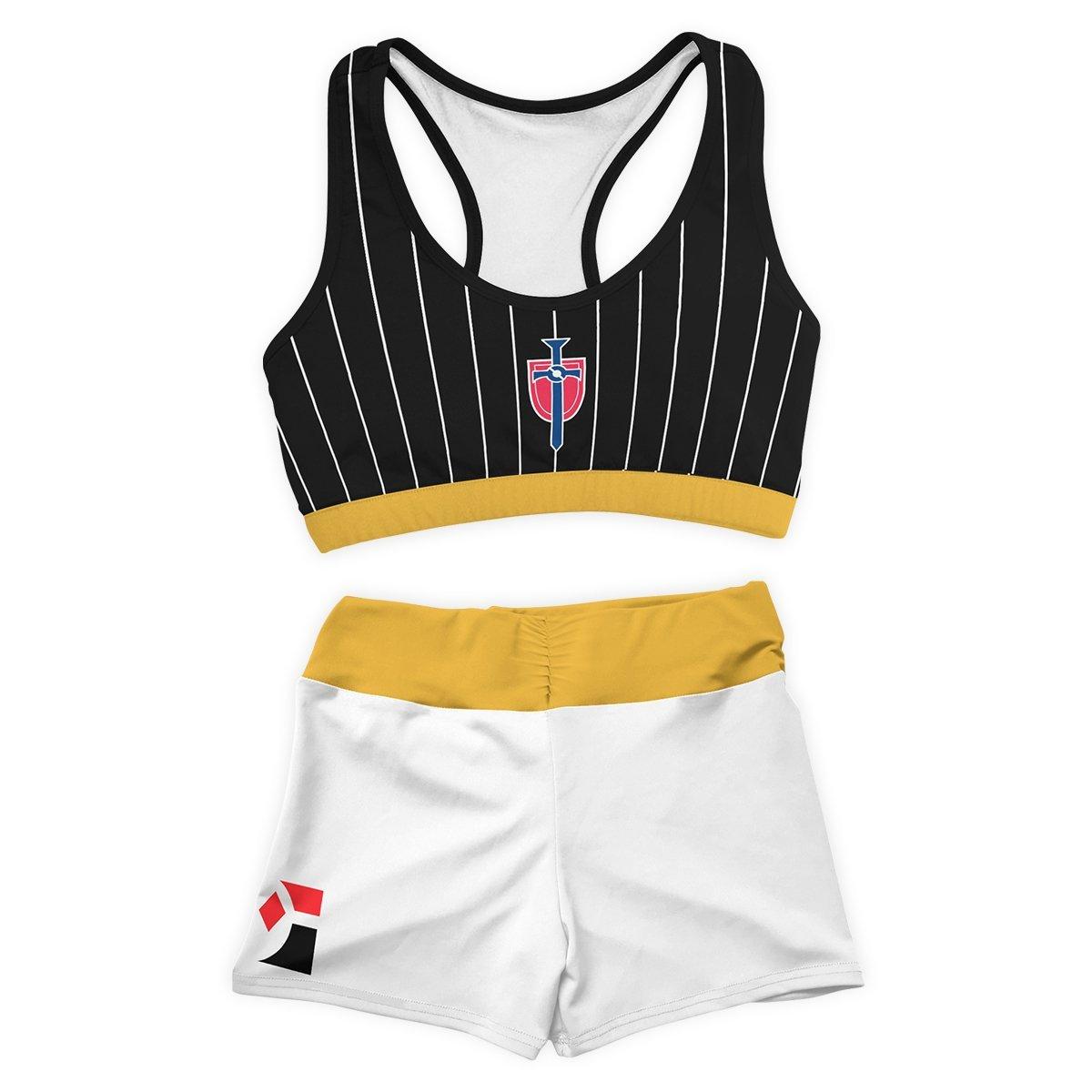 Pokemon Champion Uniform Active Wear Set FDM3107 Entire Set Official Anime Swimsuit Merch