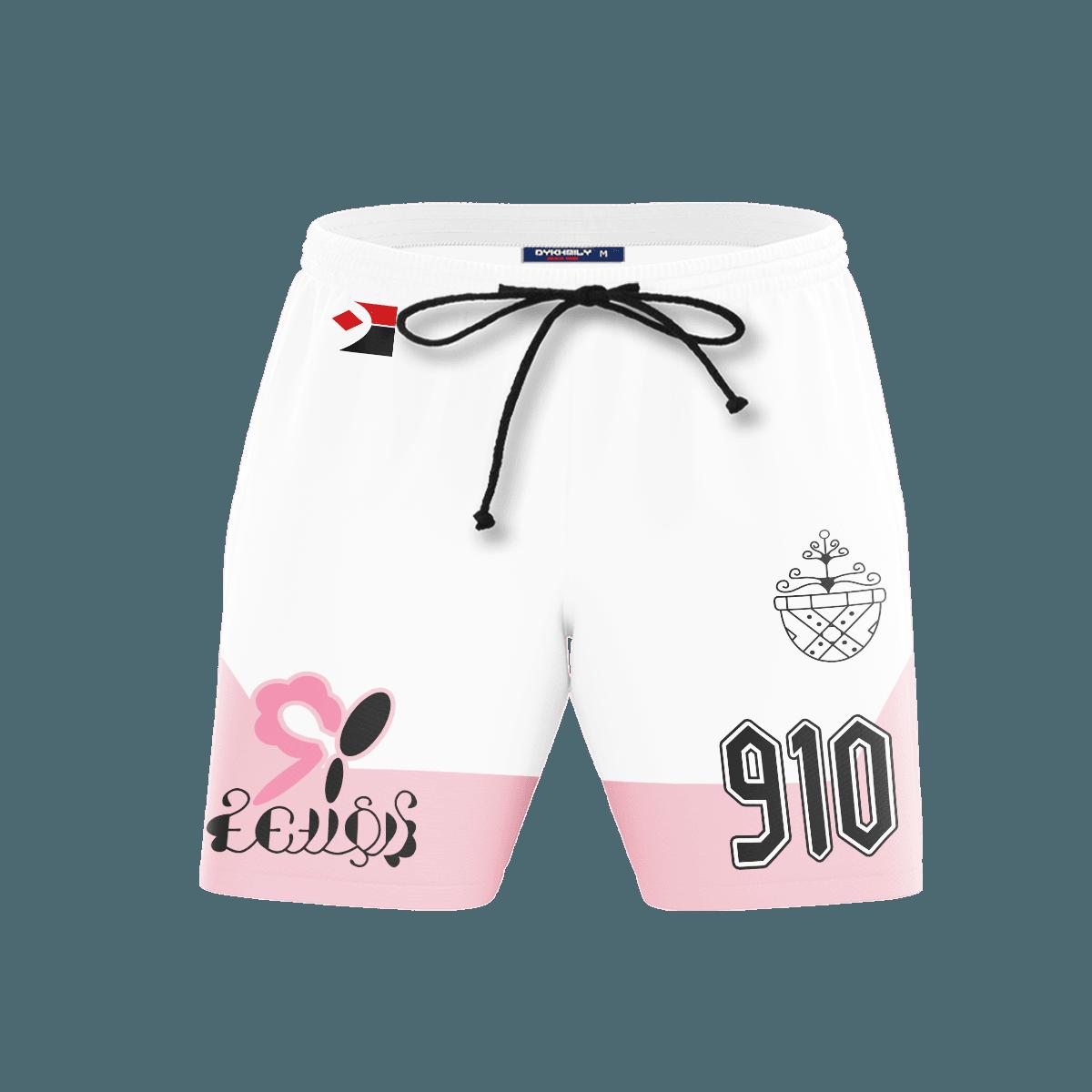 Pokemon Fairy Uniform Beach Shorts FDM3107 S Official Anime Swimsuit Merch