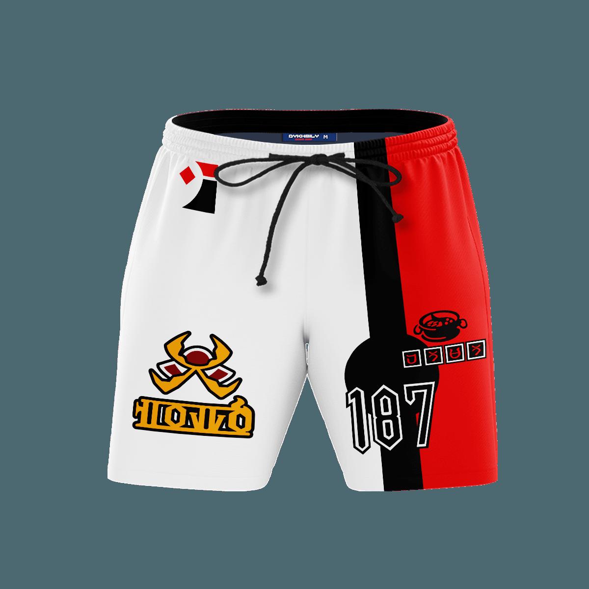 Pokemon Fire Uniform Beach Shorts FDM3107 S Official Anime Swimsuit Merch