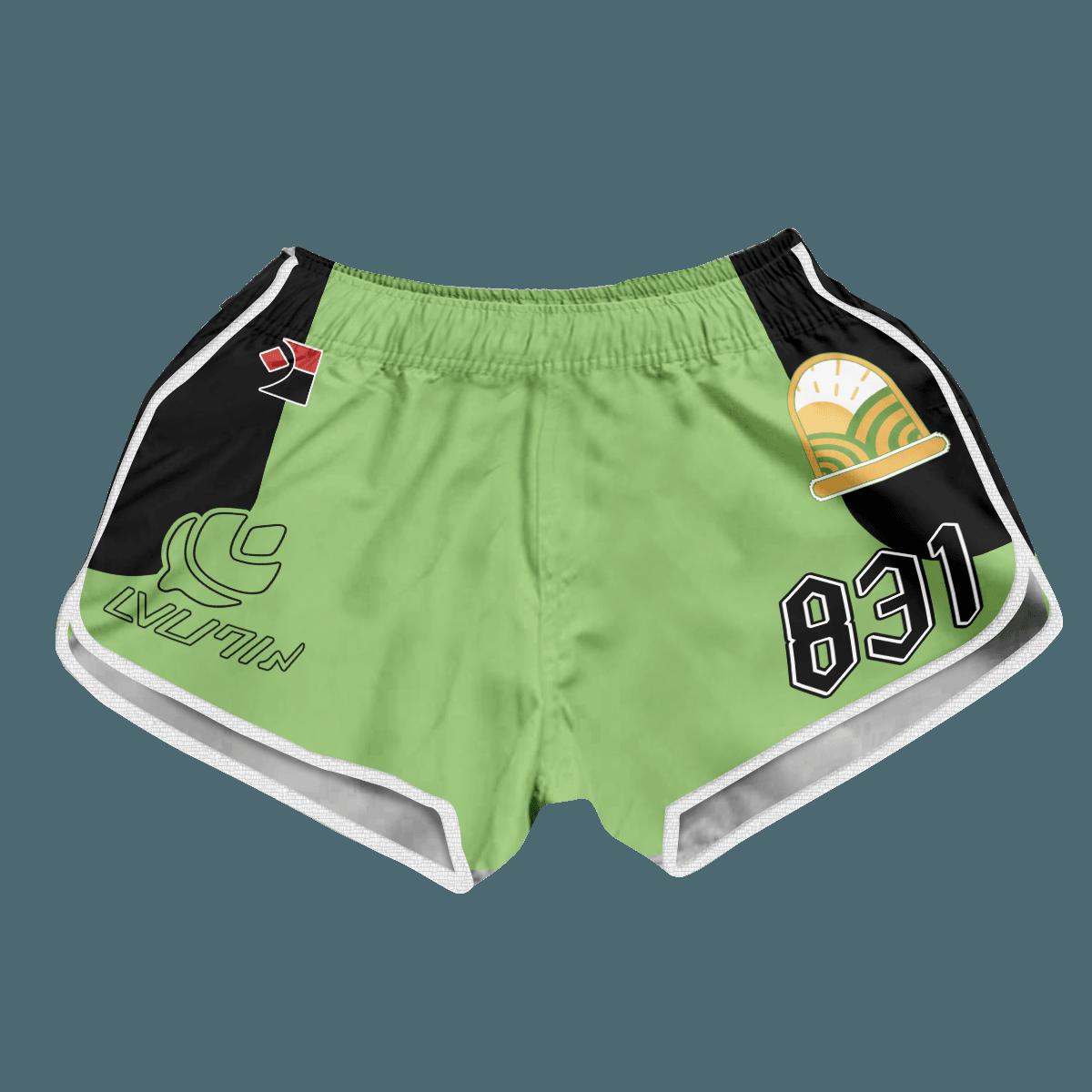 Pokemon Grass Uniform Women Beach Shorts FDM3107 XS Official Anime Swimsuit Merch