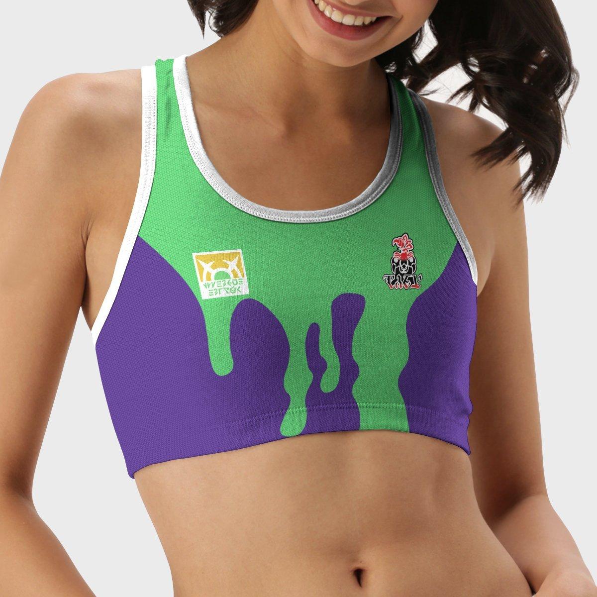 pokemon poison uniform active wear set 537351 - Anime Swimsuits