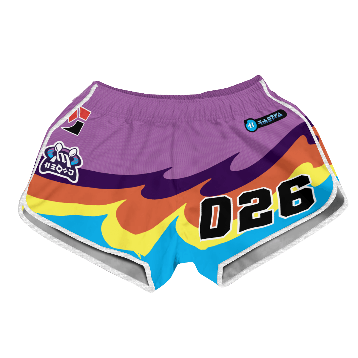 Pokemon Psychic Uniform Women Beach Shorts FDM3107 XS Official Anime Swimsuit Merch