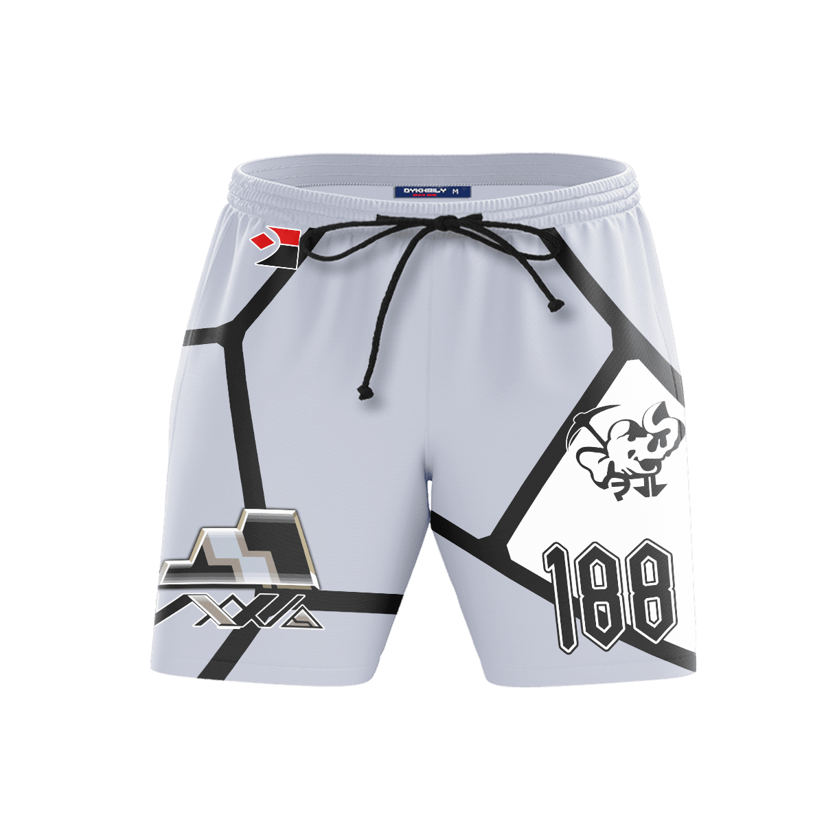 Pokemon Rock Uniform Beach Shorts FDM3107 S Official Anime Swimsuit Merch
