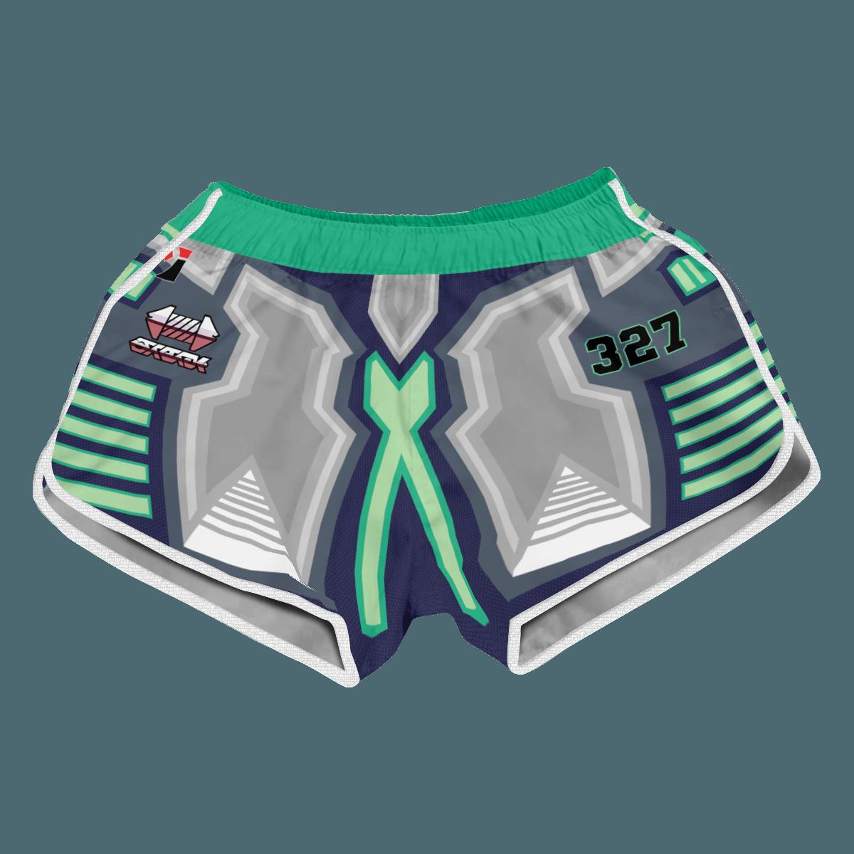 Pokemon Steel Uniform Women Beach Shorts FDM3107 XS Official Anime Swimsuit Merch
