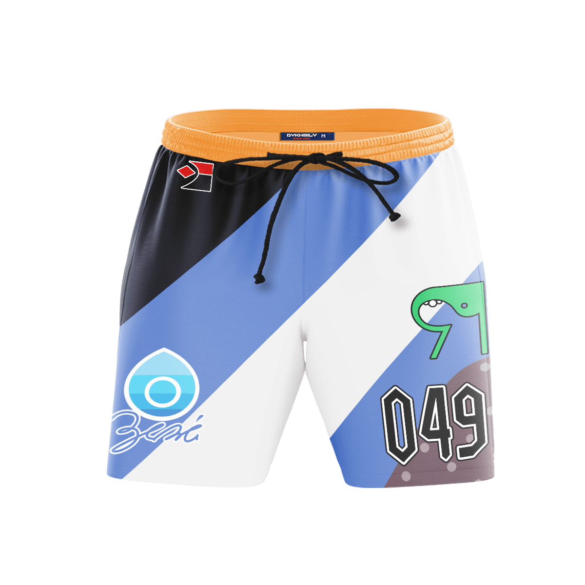 Pokemon Water Uniform Beach Shorts FDM3107 S Official Anime Swimsuit Merch