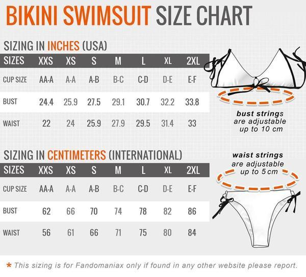 2XL Official Anime Swimsuit Merch