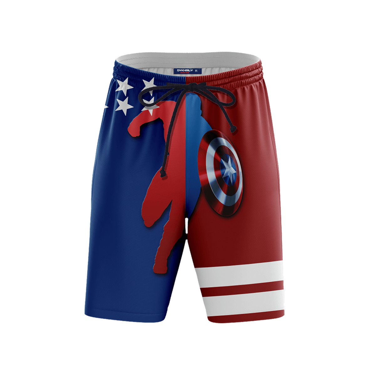 Stars and Stripes Beach Shorts FDM3107 S Official Anime Swimsuit Merch