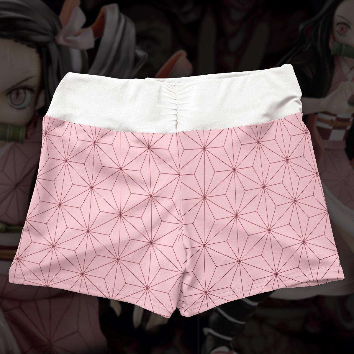 summer nezuko active wear set 319941 - Anime Swimsuits