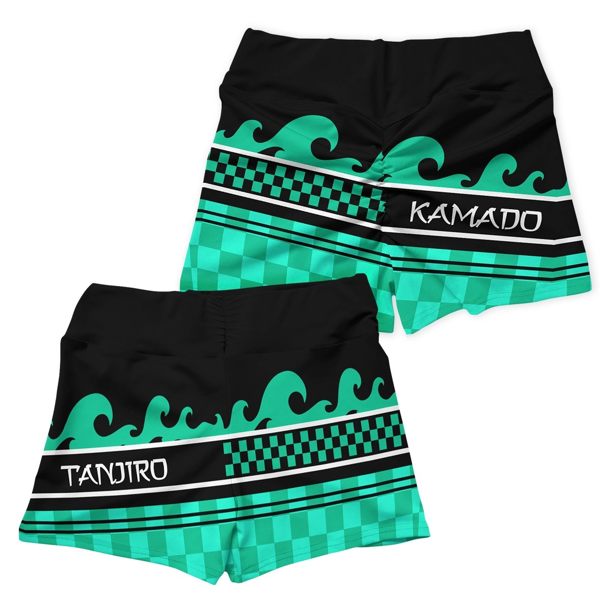 summer tanjiro active wear set 439676 - Anime Swimsuits