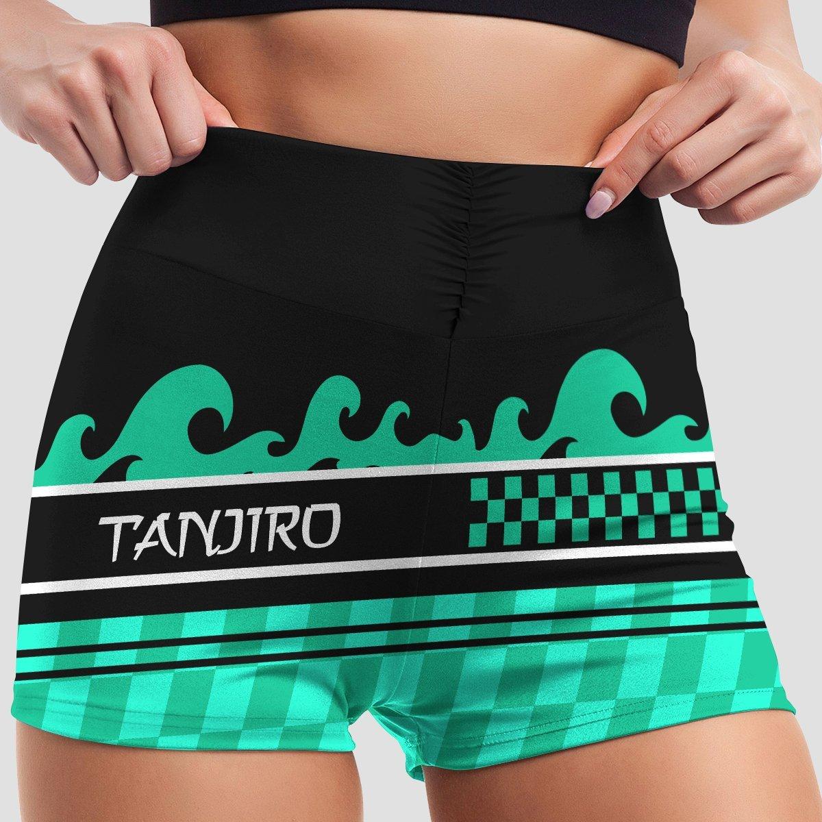 summer tanjiro active wear set 530948 - Anime Swimsuits