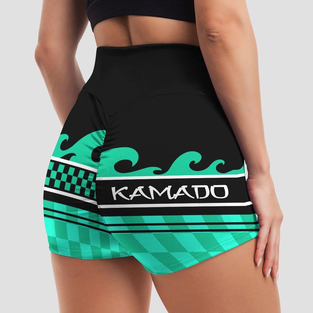 summer tanjiro active wear set 654714 - Anime Swimsuits