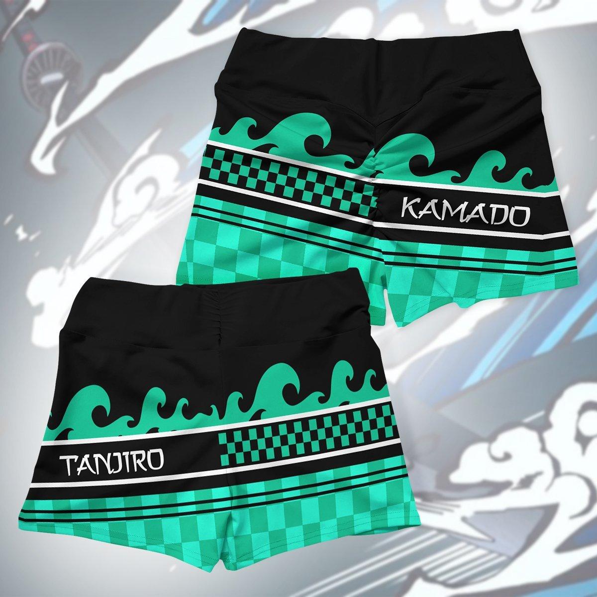 summer tanjiro active wear set 669553 - Anime Swimsuits