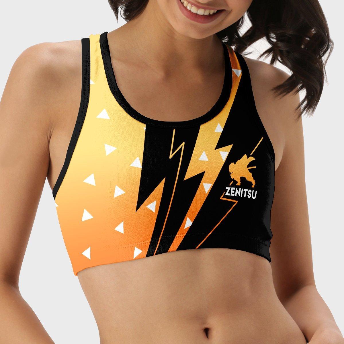 summer zenitsu active wear set 226514 - Anime Swimsuits