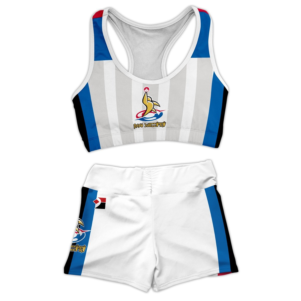 Sword and Shield Outfit Active Wear Set FDM3107 Entire Set Official Anime Swimsuit Merch