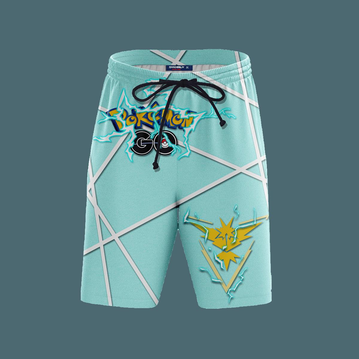 Team Instinct Beach Shorts FDM3107 S Official Anime Swimsuit Merch
