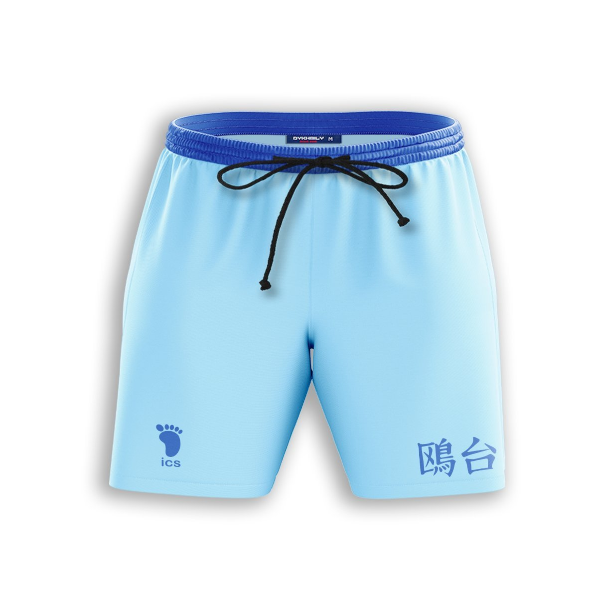 Team Kamomedai Beach Shorts FDM3107 S Official Anime Swimsuit Merch