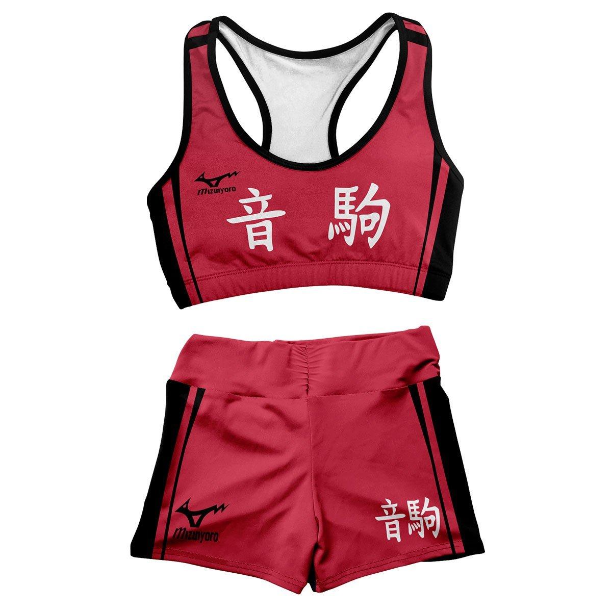 Team Nekoma Active Wear Set FDM3107 Entire Set Official Anime Swimsuit Merch