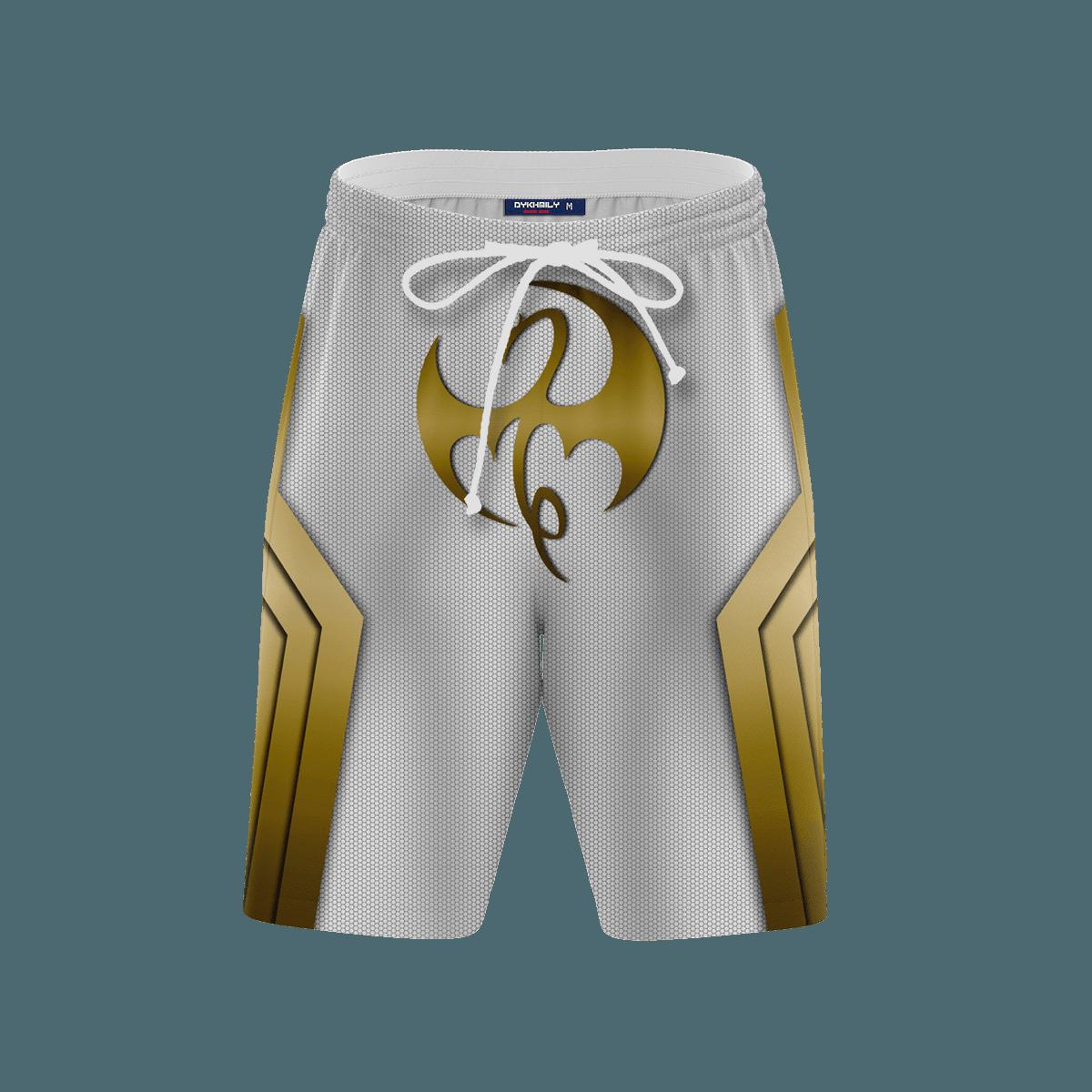 The Immortal Iron Fist Beach Shorts FDM3107 S Official Anime Swimsuit Merch