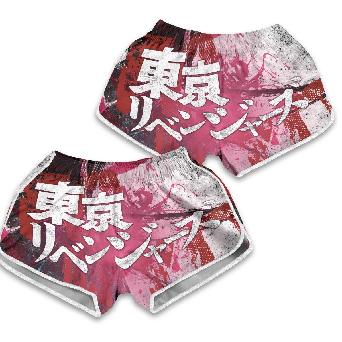 Tokyo Manji Gang Women Beach Shorts FDM3107 XS Official Anime Swimsuit Merch
