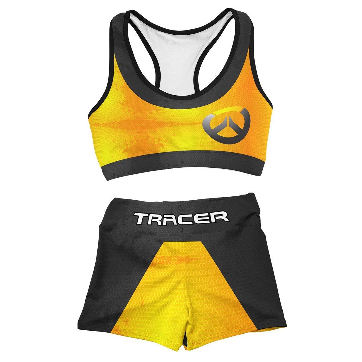 Tracer Summer Active Wear Set FDM3107 Entire Set Official Anime Swimsuit Merch