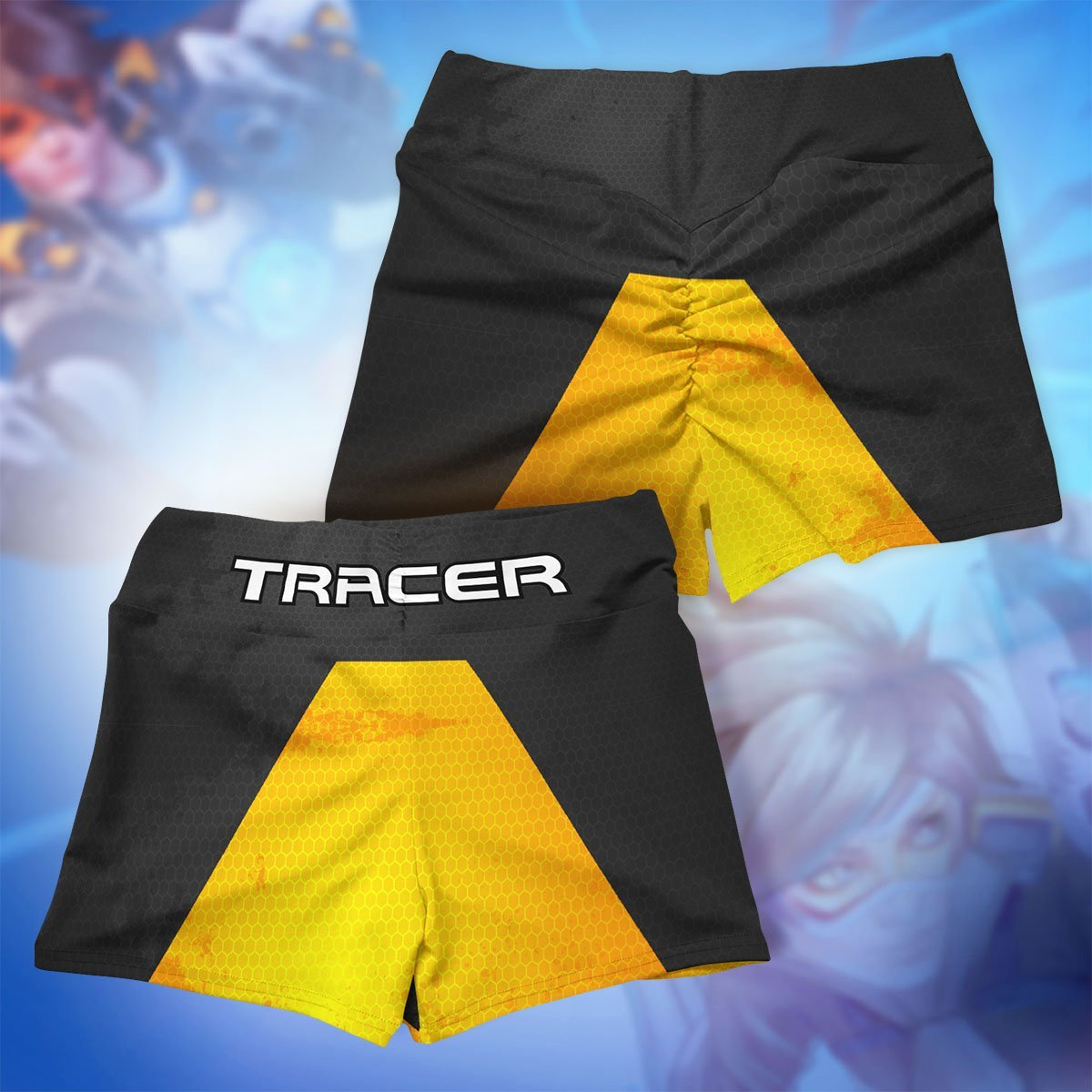 tracer summer active wear set 928901 - Anime Swimsuits