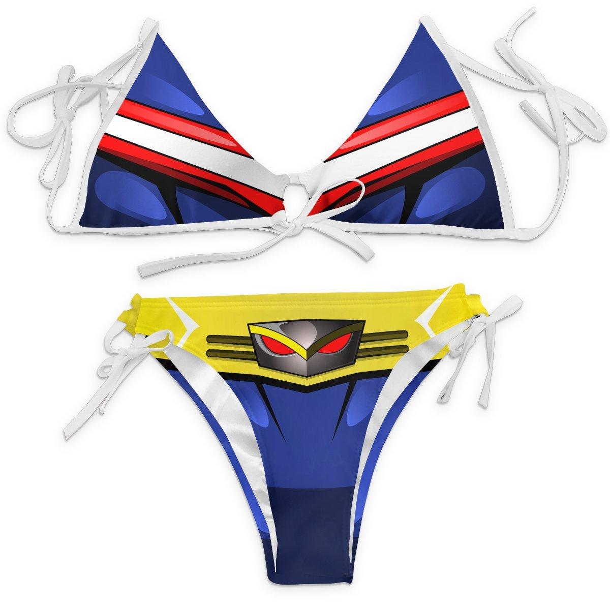 UA High All Might Bikini Swimsuit FDM3107 XXS Official Anime Swimsuit Merch