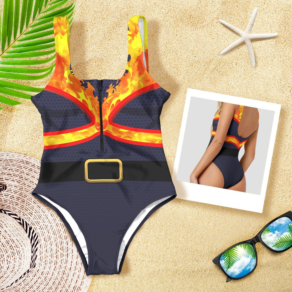 S Official Anime Swimsuit Merch