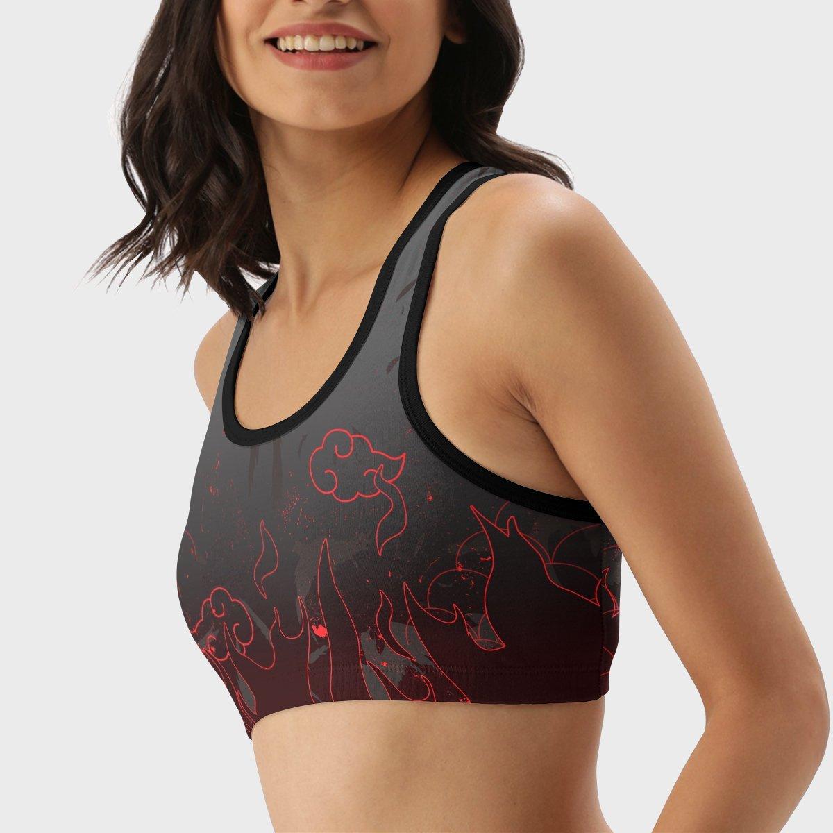 uchiha emblem active wear set 162328 - Anime Swimsuits